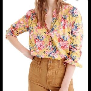 J. Crew Popover Shirt in Liberty Magical Bouquet